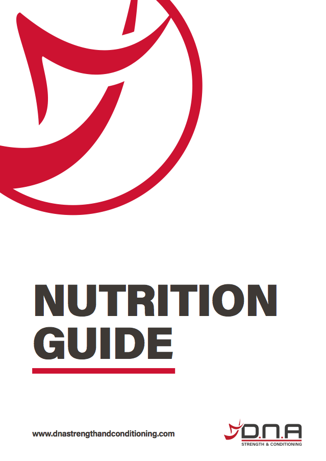 Nutrition Guide Cover